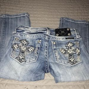 Girls Miss Me Capri Pants 👖 Size 10